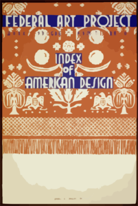 Index Of American Design Clip Art