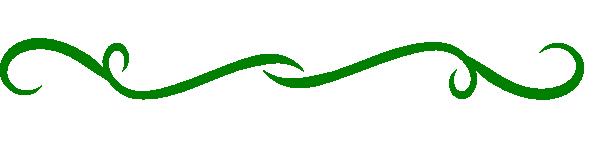 green fancy line clip art at clker com vector clip art online rh clker com Green Swirly Lines Clip Art green line divider clipart