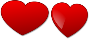 Heart Wide Clip Art