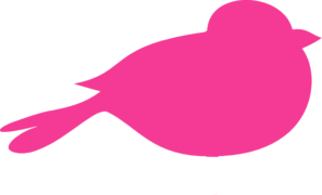 Hot Pink Bird Clip Art