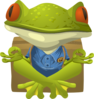 Inhabitants Npc Yoga Frog Clip Art