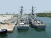 Ships Arrive In Ft. Lauderdale For Fleet Week 2002 Clip Art