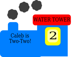 Caleb Train Clip Art