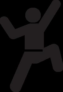 climbing man clip art at clker com vector clip art online royalty rh clker com Rock Climbing Clip Art Rock Climbing Wall
