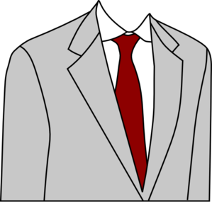 Light Grey Suit Clip Art
