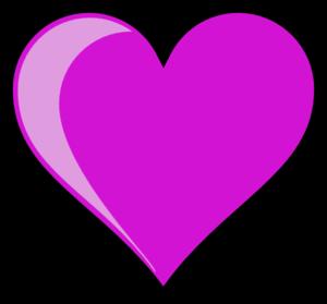 purple heart clip art at clker com vector clip art online royalty rh clker com purple heart border clipart pink and purple heart clipart