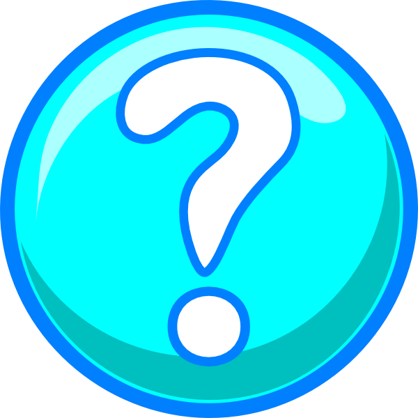 Blue Question Mark Clip Art at Clker.com - vector clip art ...
