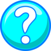 Blue Question Mark Clip Art