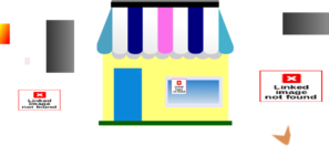 House Of Thrifts Store Logo Clip Art