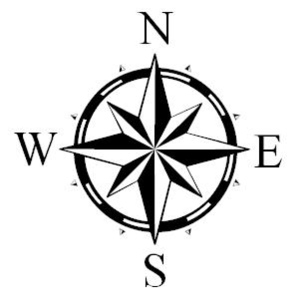 Compass Pointing East Tattoo Northarrow | Free Imag...