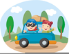 Car Driveway Clipart Image