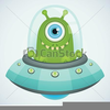 Clipart Flying Saucer Image