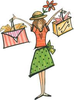 Woman Shopping Image