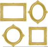Gold Picture Frame Clipart Image