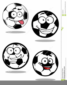 Cartoon Smiling Faces Clipart Image
