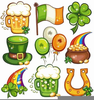 St Patricks Day Pot Of Gold Clipart Image