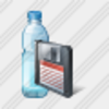 Icon Water Bottle Save Image