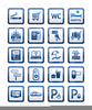 Clipart Hotel Icon Set Image