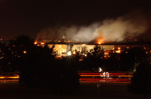 Pentagon Damage; Sept. 11, 2001 Image