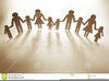 Free Clipart Of Family Holding Hands Image