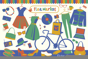 Flea Market Clipart Images Image