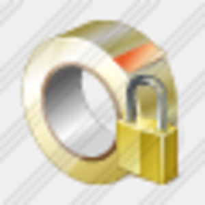 Icon Adhesive Tape Locked Image
