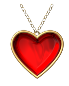 Heart Necklace Free Images At Vector Clip
