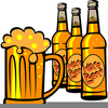 Alcoholic Drink Clipart Image
