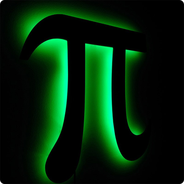 Light up pi symbol free images at vector for Pi character