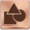 Free Bronze Button Shapes Image