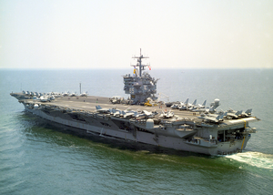 Uss Enterprise (cvn 65) Underway Image