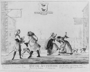 Mutual Accusation  / Mr. Bunbury, Del. ; Js. Bretherton, F. Image