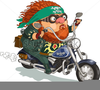 Free Animated Bike Clipart Image