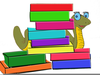 Clipart Of Books And Children Image