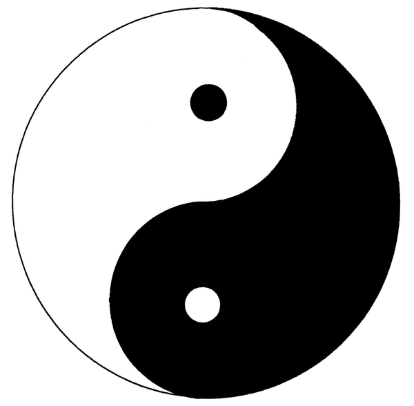 ying yang free images at vector clip art. Black Bedroom Furniture Sets. Home Design Ideas