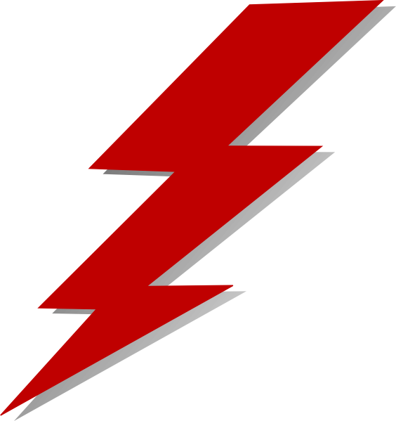 flash bolt clip art at clker com vector clip art online flash clipart dc flash clip art black and white