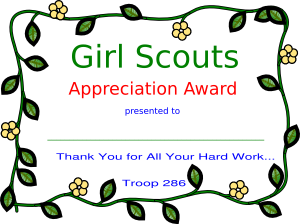 Girl scout appreciation clip art at clker vector clip art download this image as yelopaper Gallery