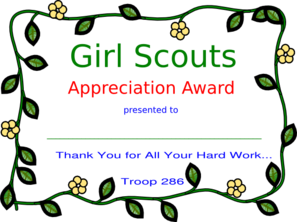 Girl Scout Appreciation Clip Art