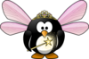 Fairy Penguin Clip Art