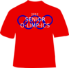 Senior O-limp-ics T-shirt Clip Art