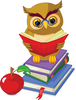 Free School Apple Clipart Image