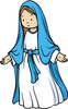 Mary Clipart Image