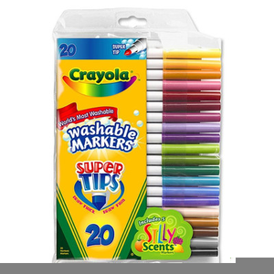 Supertips Washable Markers | Free Images at Clker com - vector clip