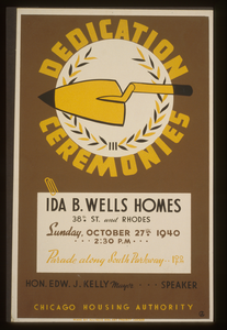 Dedication Ceremonies--ida B. Wells Homes ... Parade Along South Parkway ... Chicago Housing Authority  / Ag. Image