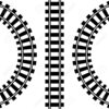 Train Tracks Vector Image