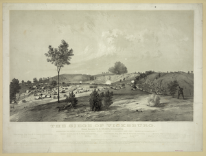The Siege Of Vicksburg - Representing The Position Of Maj. Gen. John A. Logan S Division... Image