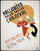 Halloween Roller Skating Carnival Bring Your Skates : Prizes Will Be Awarded For Costumes / M. Weitzman. Image
