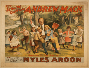 The Singing Comedian, Andrew Mack In The Greatest Of Irish Plays, Myles Aroon Image