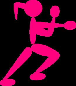 girl boxing clip art at clker com vector clip art online royalty rh clker com