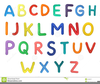 Alphabet Illustrations Clipart Image